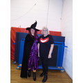 Room on the Broom witch and the Cheshire Cat