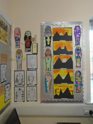 Do you like our Egyptian art?