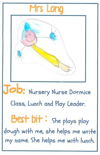 Mrs Long Nursery Nurse and Lunchtime Leader