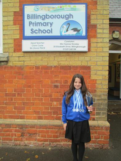 Bethan Roberts won 4 silver medals in gymnastics.