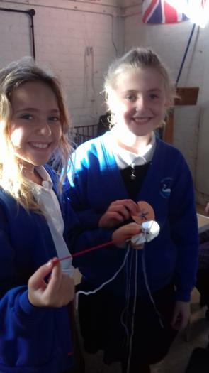 Knitting without needles!