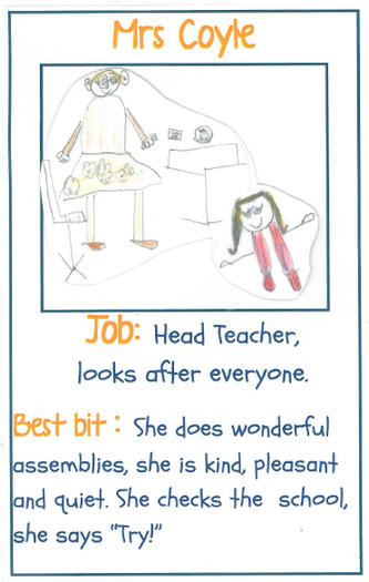 Mrs Coyle Head Teacher and SENDCo