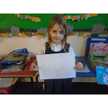 Esme's bar chart about countries.