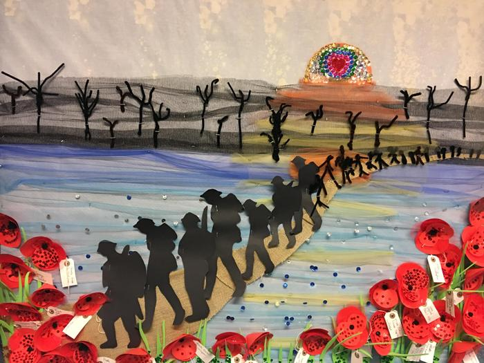 Our representation of soldiers at Passchendaele