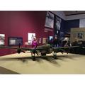 Model of a Lancaster bomber.