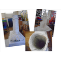 Creating a class sculpture of a Lighthouse.