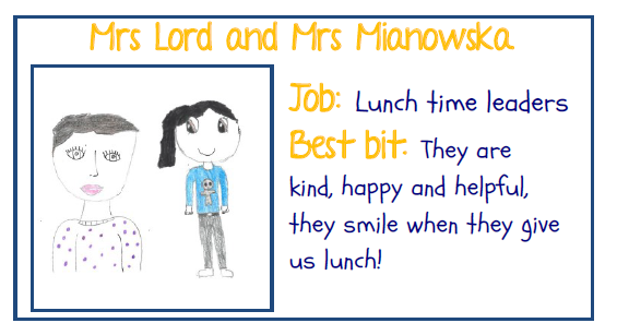 Mrs Mianowska and Mrs Lord Lunchtime Leaders