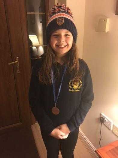 Emily Parkins-our very own County Swimmer!