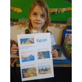 Esme's information about Egypt.