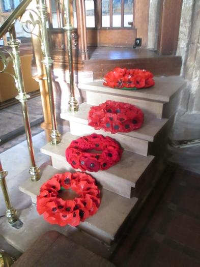 Our poppy wreaths