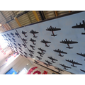 Models of the 59 Lancasters which didn't come home