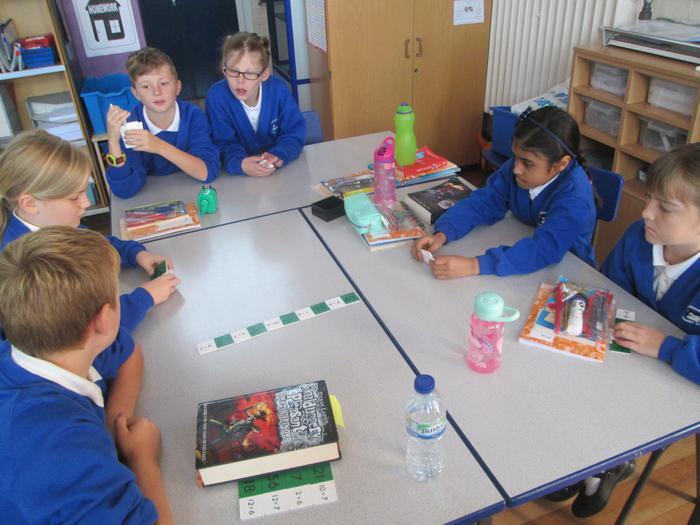 Multiplication dominos