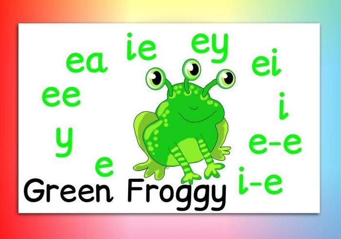 Meet Green Froggy