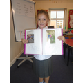 Willow's amazing book about herself.