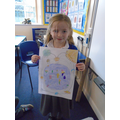 Isobel's map.