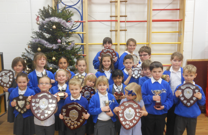 Achievement Awards December 2015