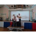 Winners Regional Final F1 Schools Jaguar Challenge