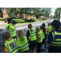 Speed awareness through our village to keep everyone safe!