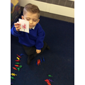Matching an amount to a numeral