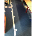 We created a time line to see where our Anglo-Saxons fit in. What does BC and AD mean?