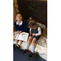 We have loved reading books in our new reading area!
