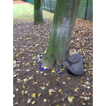 Blue kindness stones for anti-bulling week