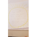Have a read of Lola's writing about the sun!