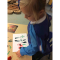 We have made our very own poppy pictures!