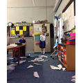 We tested the planes to see which plane went the furthest