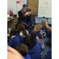 We looked at a box camera.