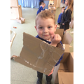 Open-ended resources - boxes! Amazing imaginative ideas...
