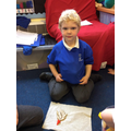 Using shapes to make firework pictures