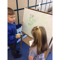 Using our phonics in play.
