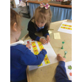 We practiced our counting and applying our counting skills.