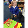 Recognising and ordering numerals 1-5