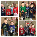 We had Christmas jumper day!