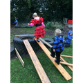 Lexi-Grace and Thomas explore building & balancing