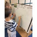 Practising our phonics.