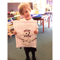 Learning at Home: Poppy's Snowgirl