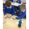 Working together to match spellings with their meanings