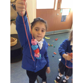 We have been developing out fine motor skills!