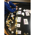 Spelling words using our phonics.