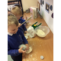 We used cook books to give us ideas and inspiration!