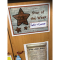 Our stars of the week this week are Connor D and Faith, who drew when we voted.