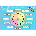 In maths we have continued with our work on time