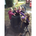 Be responsible for putting food in the compost bin