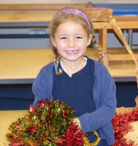 Decorating the Christmas Tree!