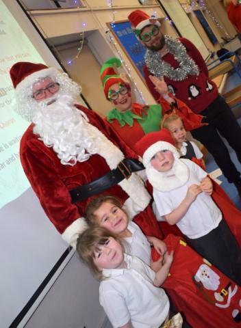 We loved meeting Santa!