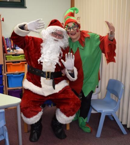 Santa and Elf!