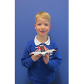 Look at this super lego model of an aeroplane!